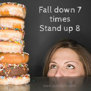 Fall down 7 times...Stand up 8